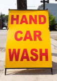 Hand Car Wash Royalty Free Stock Photography