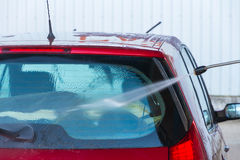 Hand Car Wash - Stock Image