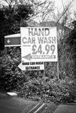 Hand car wash Royalty Free Stock Photo