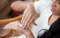 HAND CARE Royalty Free Stock Photos