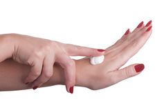 Hand Care. Royalty Free Stock Photography