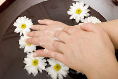 Hand care Stock Photos