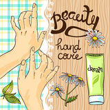 Hand care Stock Photography