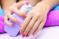 Hand care cream Stock Photography