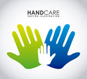 Hand care design Royalty Free Stock Photography