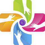 Hand care logo Stock Images