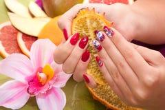 Hand care Spa Stock Foto's