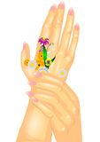 Hand care Royalty Free Stock Photography