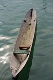 Hand Carve Canoe Stock Image