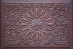 Hand carved crafted wood Stock Photography