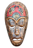 Hand carved wooden mask Royalty Free Stock Images