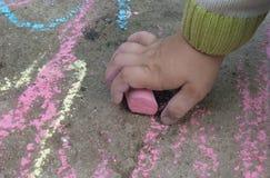 Hand of child Stock Photos