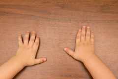 Hand of a child Royalty Free Stock Photo