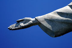Hand of Christ the Redeemer Stock Photos