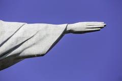 Hand of Christ the Redeemer in Rio de Janeiro Stock Photos
