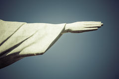 Hand of Christ the Redeemer in Rio de Janeiro Royalty Free Stock Photo