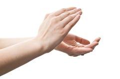 Hand clap Stock Photo