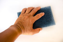 Hand for clean Royalty Free Stock Photography