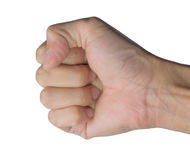 Hand. With clenched a fist Royalty Free Stock Photos