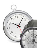Hand clock Royalty Free Stock Photos