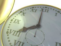 The hand clock Royalty Free Stock Images