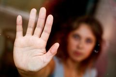 Hand close up Stock Images