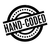 Hand-Coded rubber stamp. Grunge design with dust scratches. Effects can be easily removed for a clean, crisp look. Color is easily changed Royalty Free Stock Photography