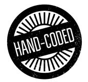 Hand-Coded rubber stamp. Grunge design with dust scratches. Effects can be easily removed for a clean, crisp look. Color is easily changed Stock Photo