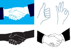 Hand Collection. Vector hands (please visit my portfolio for more Stock Photo