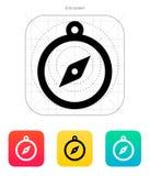 Hand compass icon. Vector illustration stock illustration