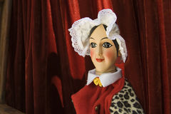 Hand-controlled puppet Royalty Free Stock Image