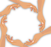 Hand cooperation Royalty Free Stock Photography