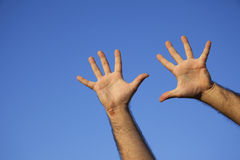 Hand Counting Royalty Free Stock Image