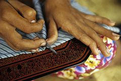 Hand_Craft Stockbild