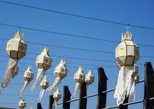 Hand craft lanterns Royalty Free Stock Images
