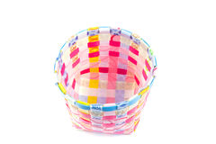 Hand craft plastic box with colorful Stock Image