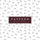 Hand pattern with brush strokes. Fashion background. Hand crafted seamless patterns. They have a textured look and can be used to decorate your print designs royalty free illustration