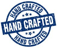 Hand crafted stamp. Hand crafted grunge vintage stamp isolated on white background. hand crafted. sign vector illustration