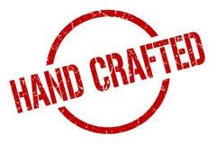 Hand crafted stamp. Hand crafted round grunge stamp. hand crafted sign. hand crafted vector illustration