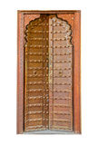Hand crafted wooden door post at Stone Town Royalty Free Stock Images