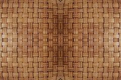 Hand Crafts Bamboo weave texture. Background Stock Photos