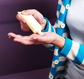 Hand Cream Royalty Free Stock Photo