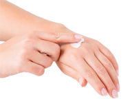 Hand cream Stock Photography