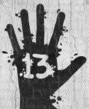 Hand 13. Creative design of Hand 13 vector illustration