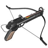 Hand crossbow - 3D render. Hand crossbow isolated in white background - 3D render Stock Images