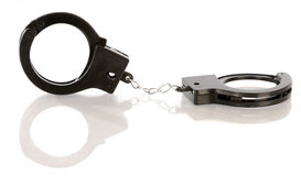 Hand cuffs Royalty Free Stock Photography