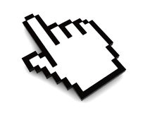 Hand cursor Stock Images