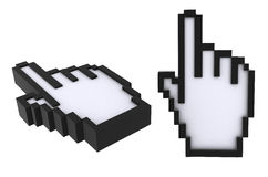 Hand cursor Royalty Free Stock Photo