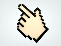 Hand cursor Royalty Free Stock Image