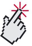 Hand cursor Stock Image